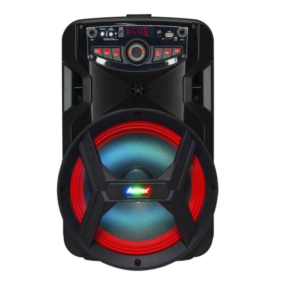 Caixa de Som Amplificada Amvox ACA 185 NEW X 180W Bluetooth