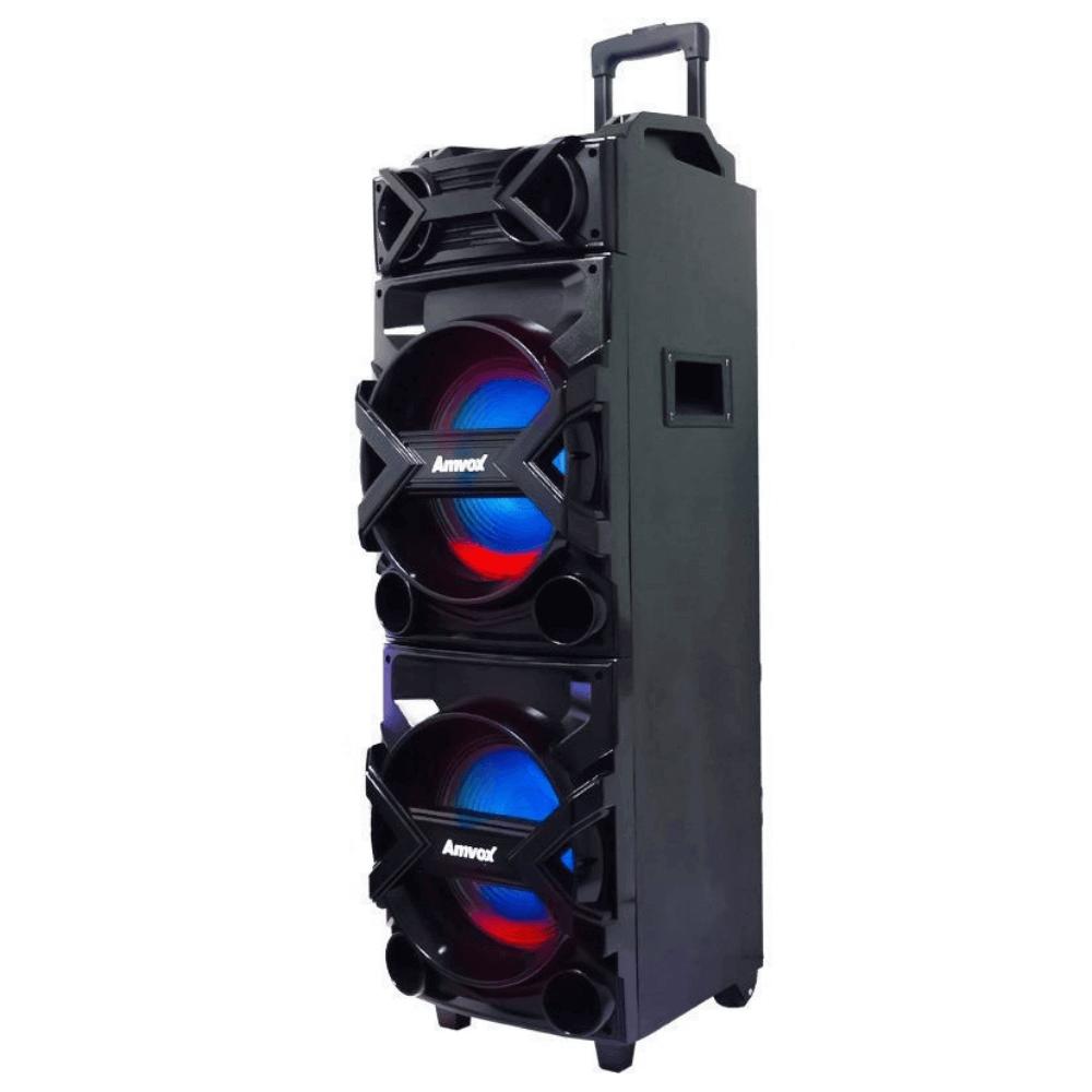 Caixa de Som Amplificada Amvox ACA 750 - 750w rms Bluetooth