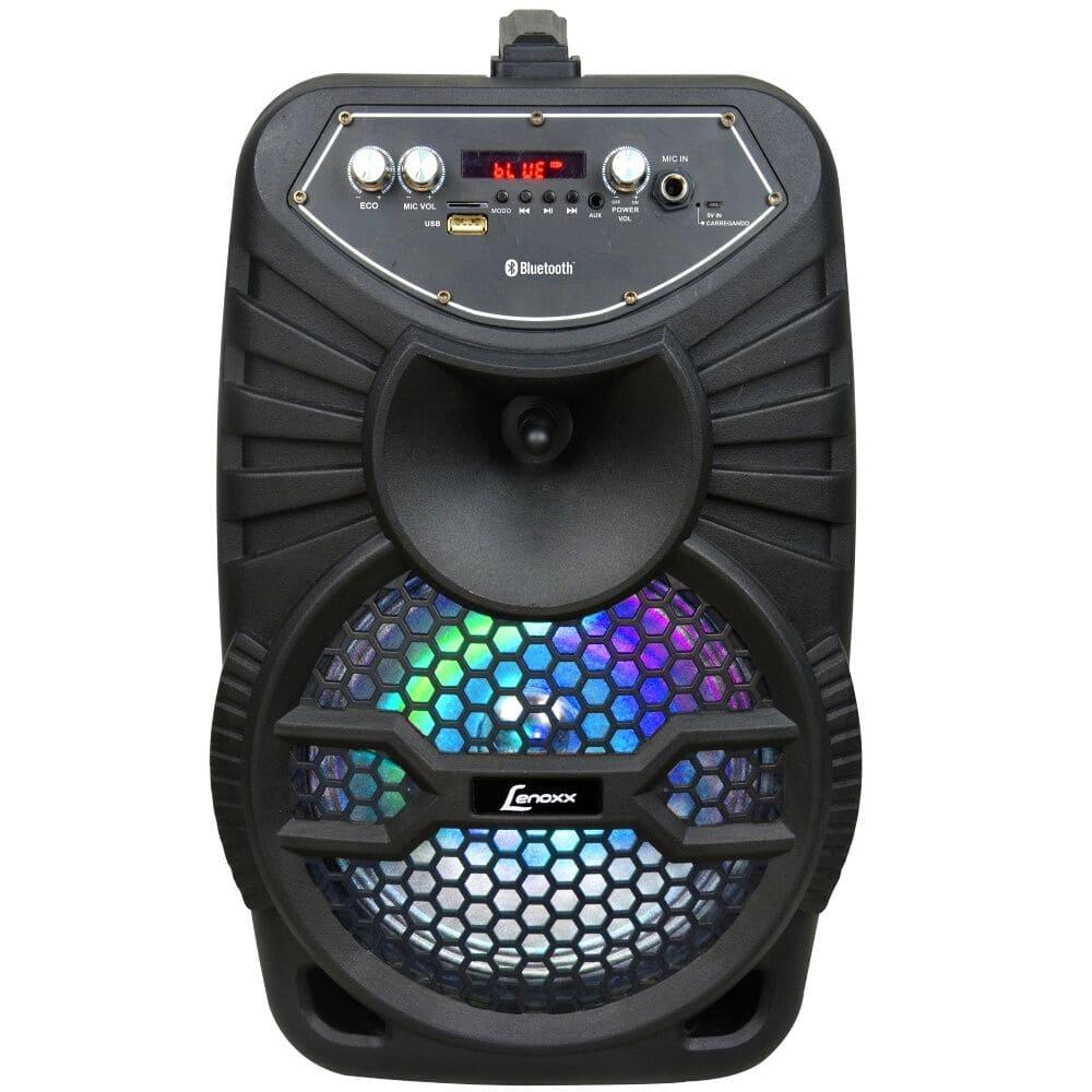 Caixa de Som Amplificada Lenoxx CA100 - 120W Bluetooth