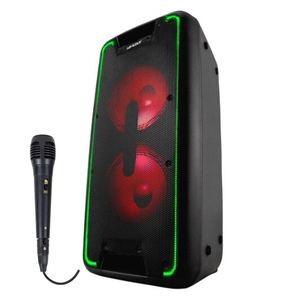 Caixa de Som Amplificada Lenoxx CA360 Bluetooth com Microfone