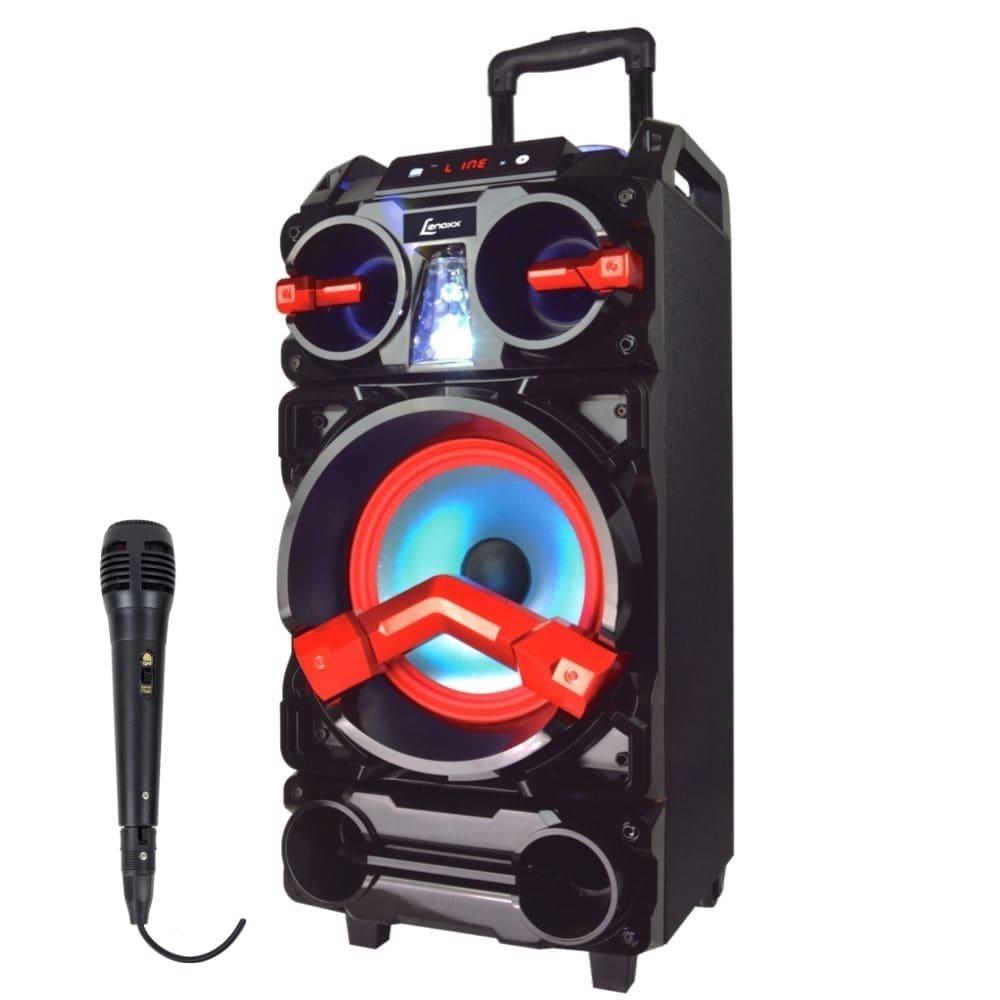 Caixa de Som Amplificada Lenoxx CA390 - 500w com microfone