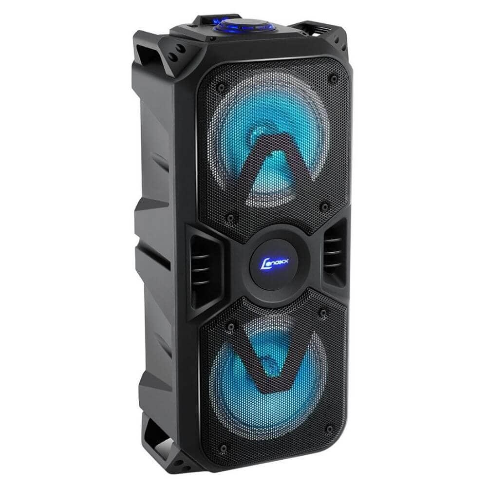 Caixa de Som Amplificada Lenoxx CA400 200w Bluetooth USB Bateria Interna