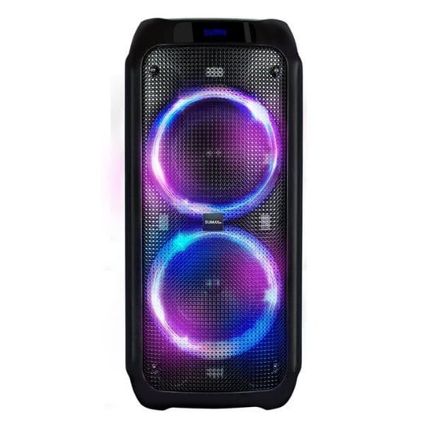 Caixa de Som Amplificada LIVEBOX 1200BT Sumay 600w Subwoofer