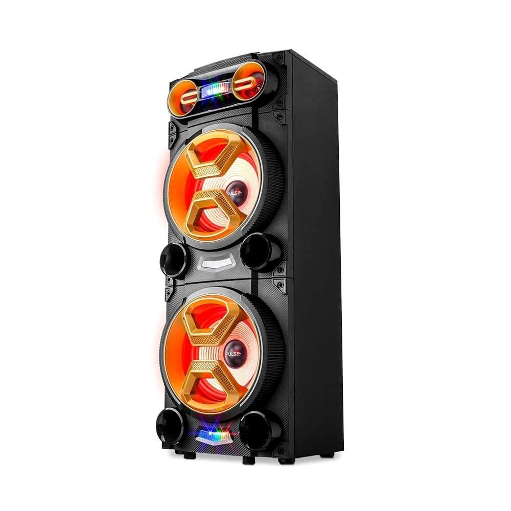 Caixa de Som Amplificada Multilaser Pulse SP360 - 1600W Karaokê