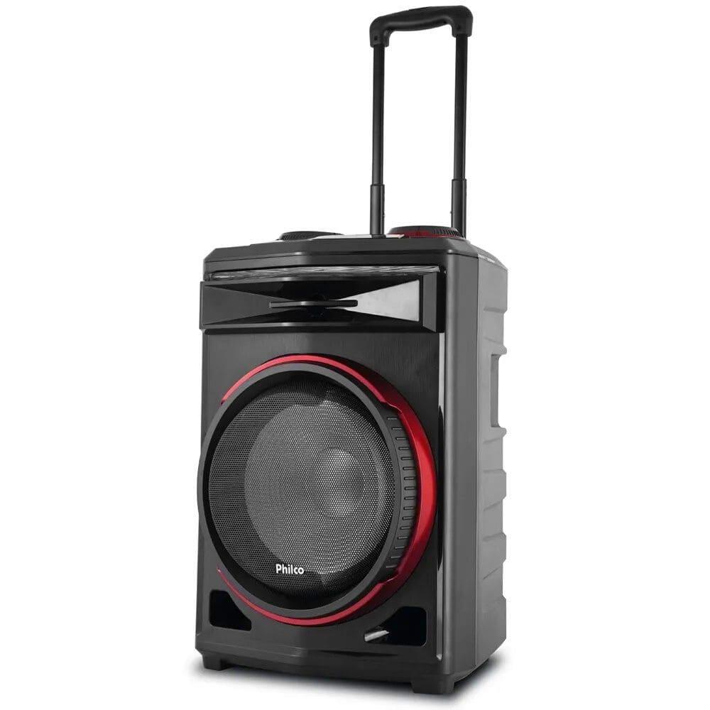 Caixa de Som Amplificada Philco PCX6500 - 380w RMS Bluetooth