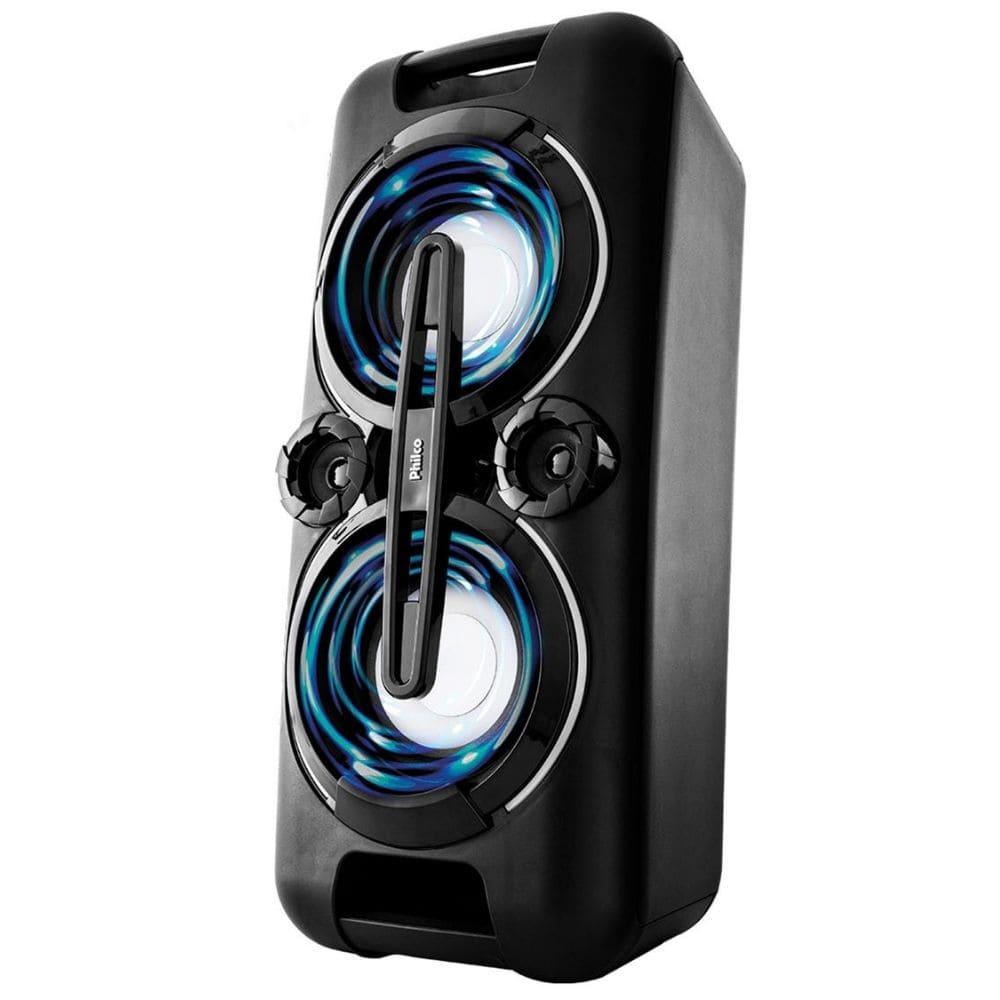 Caixa de som Amplificada Philco PHT5000 Bleutooth LED's