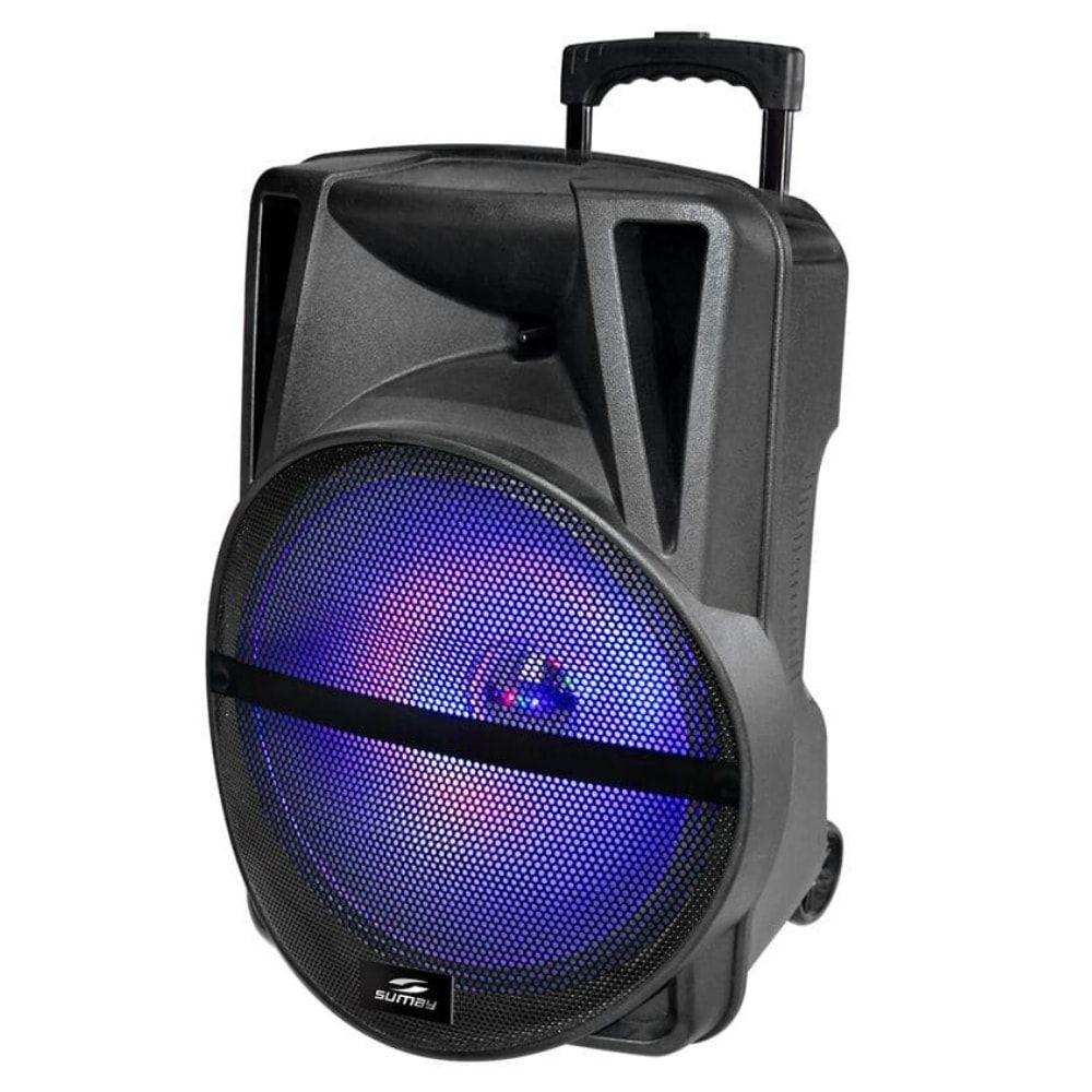 Caixa de som Amplificada Sumay Primus 250w SM16P Bleutooth