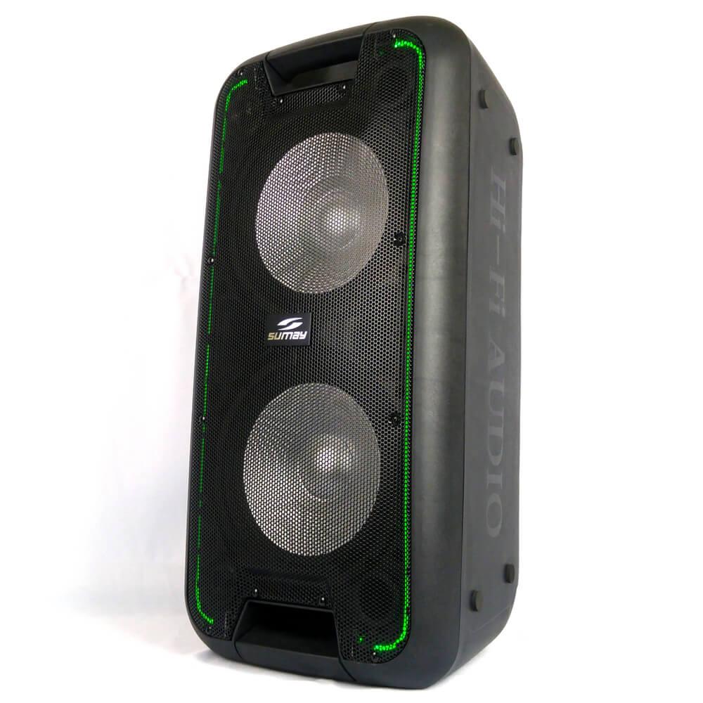 Caixa De Som Amplificada Titan Sumay 600w Bluetooth Recarregável