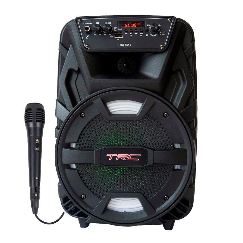 Caixa de Som Amplificada TRC5515 - 150w RMS com Microfone