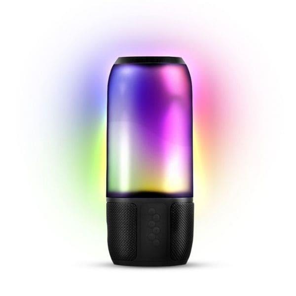 Caixa de Som Bluetooth com Bateria e Iluminação Novik Neo Lightshow