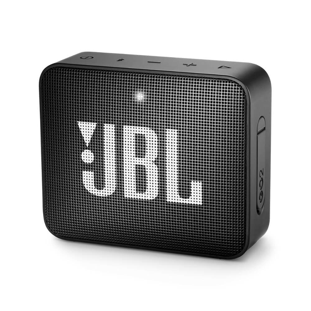 Caixa de Som Bluetooth JBL GO2 Portátil à prova dágua - 3W Preta