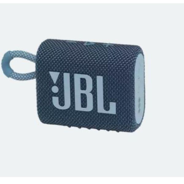 Caixa de Som Bluetooth JBL GO3 BLUE Portátil À Prova d'água