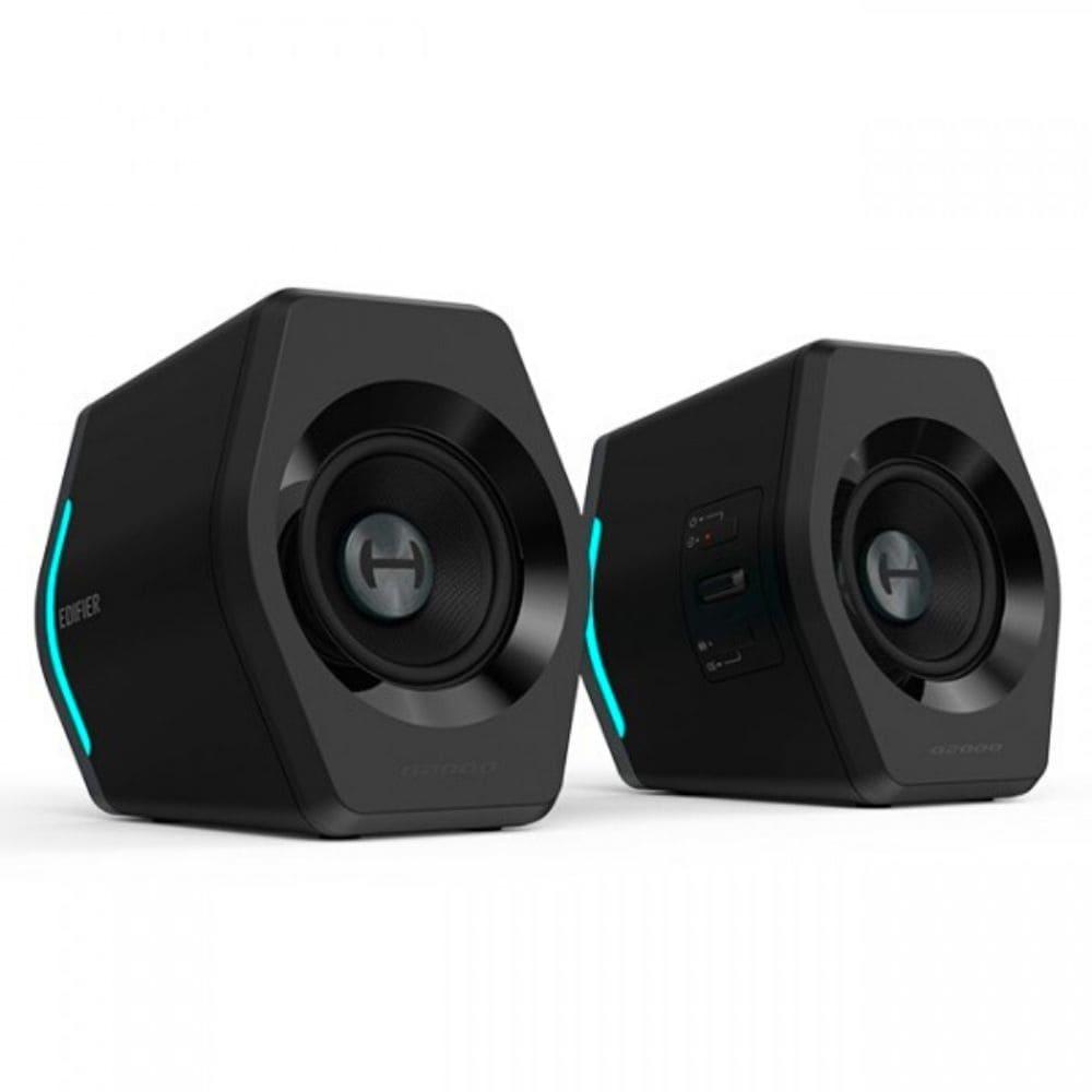 Caixa De Som Gamer Bluetooth Edifier G2000 32w Rms Rgb Light - Preto