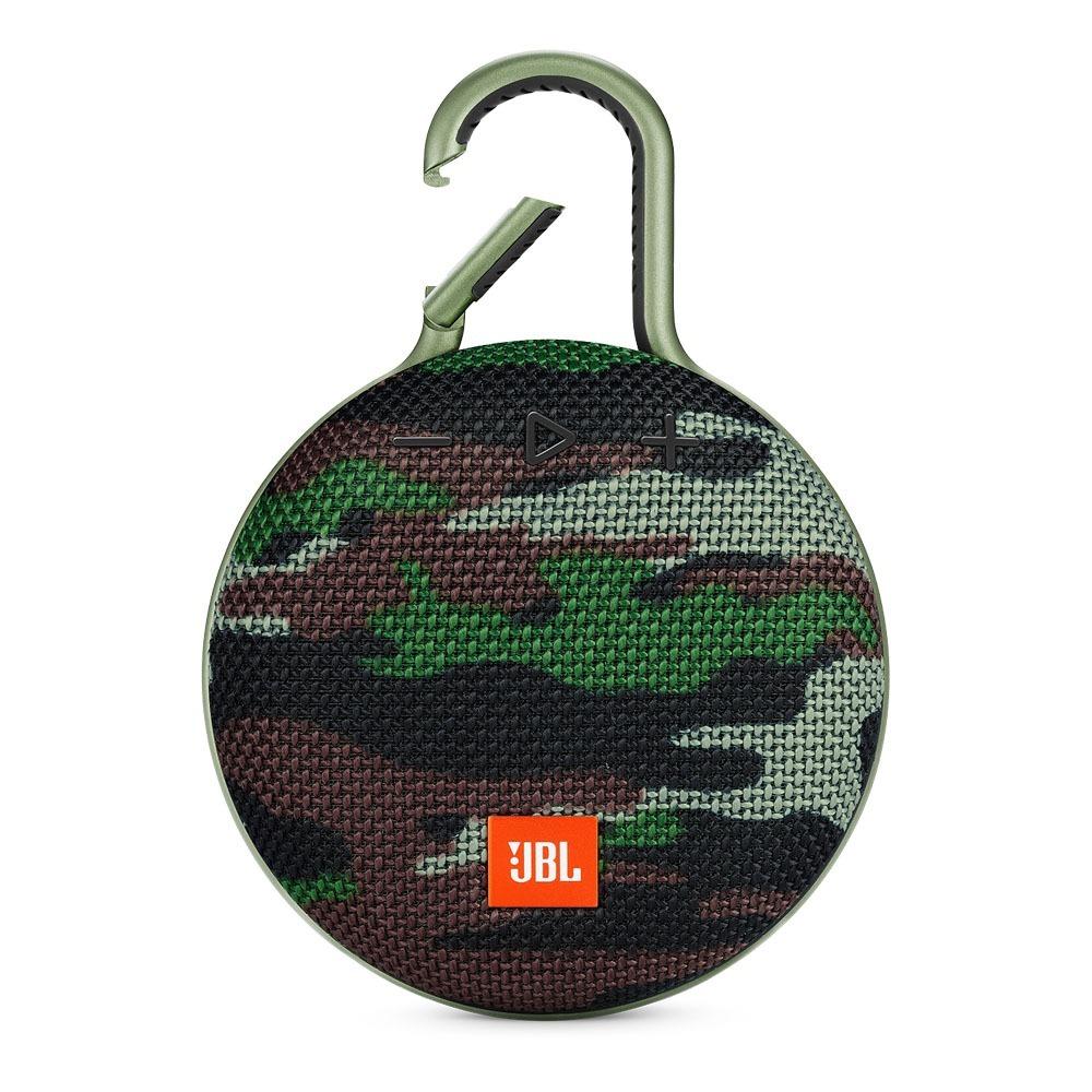 Caixa de Som JBL Clip 3 Bluetooth À Prova D´água 3w Camuflada