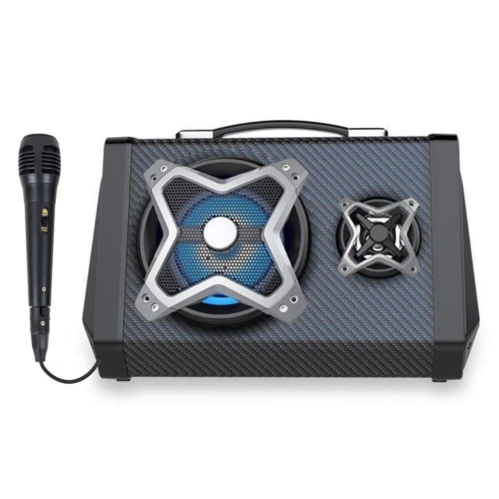 Caixa de Som Multilaser Bluetooth SP314 - 120w RMS Microfone