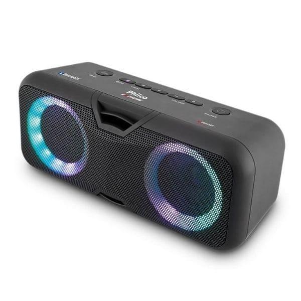 Caixa de som Philco PSB55BT Extreme Bluetooth LED Ex Bass