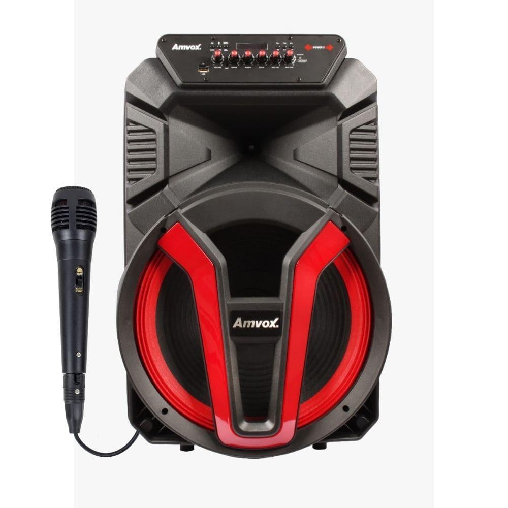 Caixa de Som Portátil Amvox ACA 780 VULCANO 700w c/Microfone