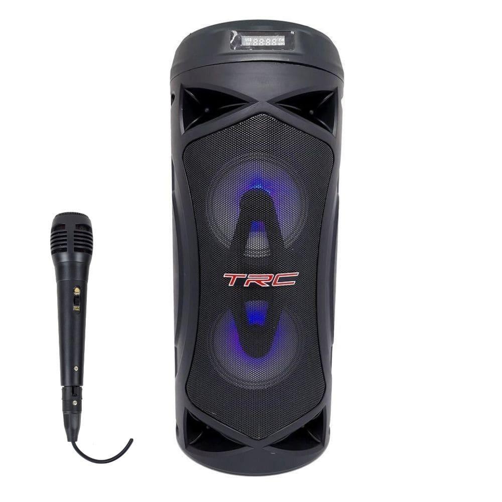 Caixa de som Portátil Bluetooth TRC 5507 - 70w RMS Microfone