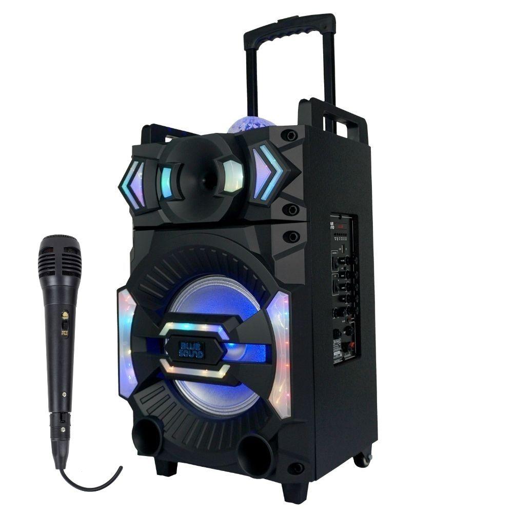 Caixa de som Portátil Karaokê Vegas 4000 BlueSound 400w RMS
