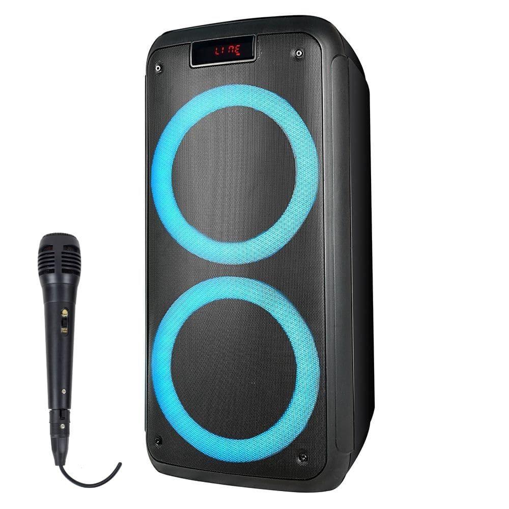Caixa de Som Pulsebox Multilaser SP359 - 1000w RMS Microfone