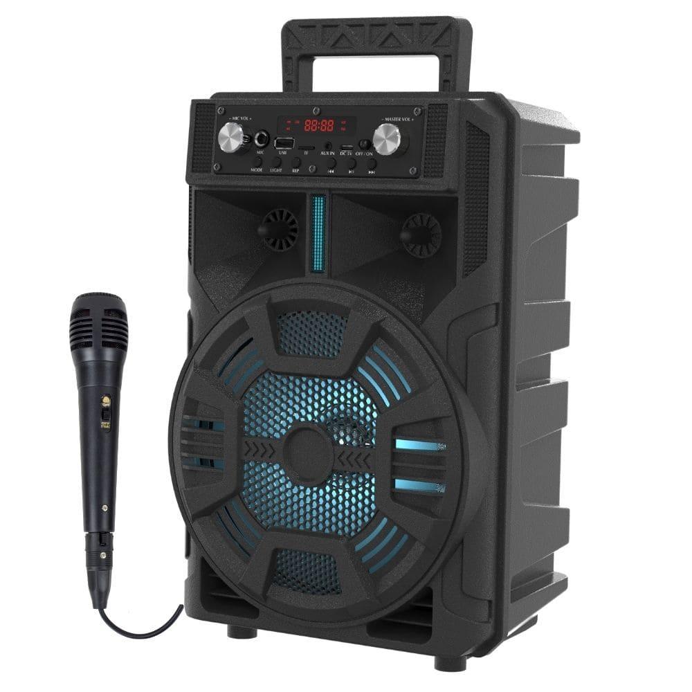 Caixinha de Som Bluetooth Sumay ADVANCE - 50w Microfone fio