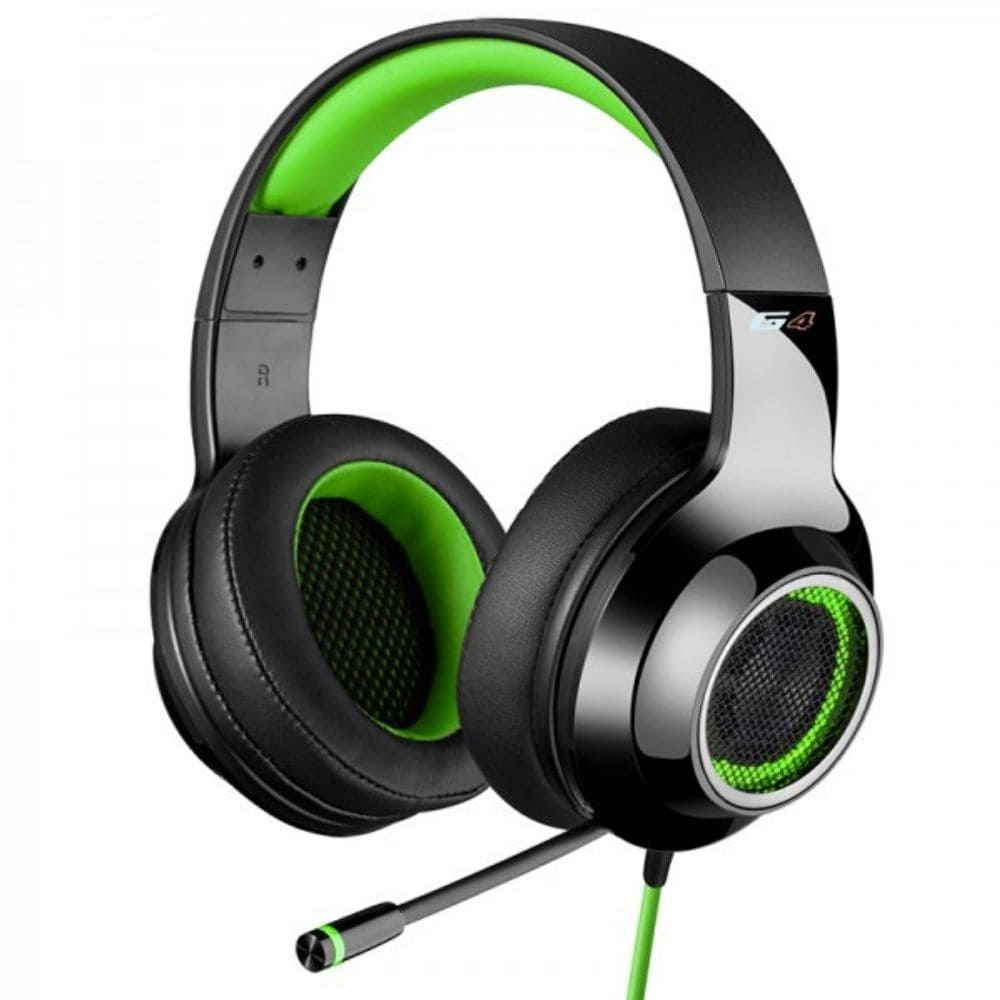 Fone de Ouvido Headset Gamer 7.1 Edifier G4 - Preto/Verde