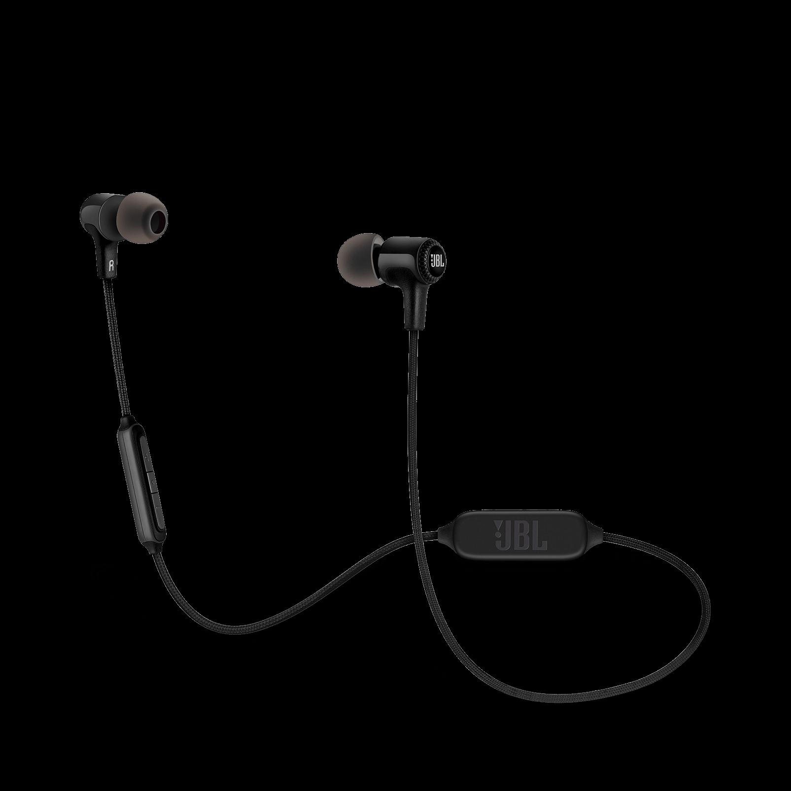 Fone De Ouvido JBL E25BT com microfone - Preto