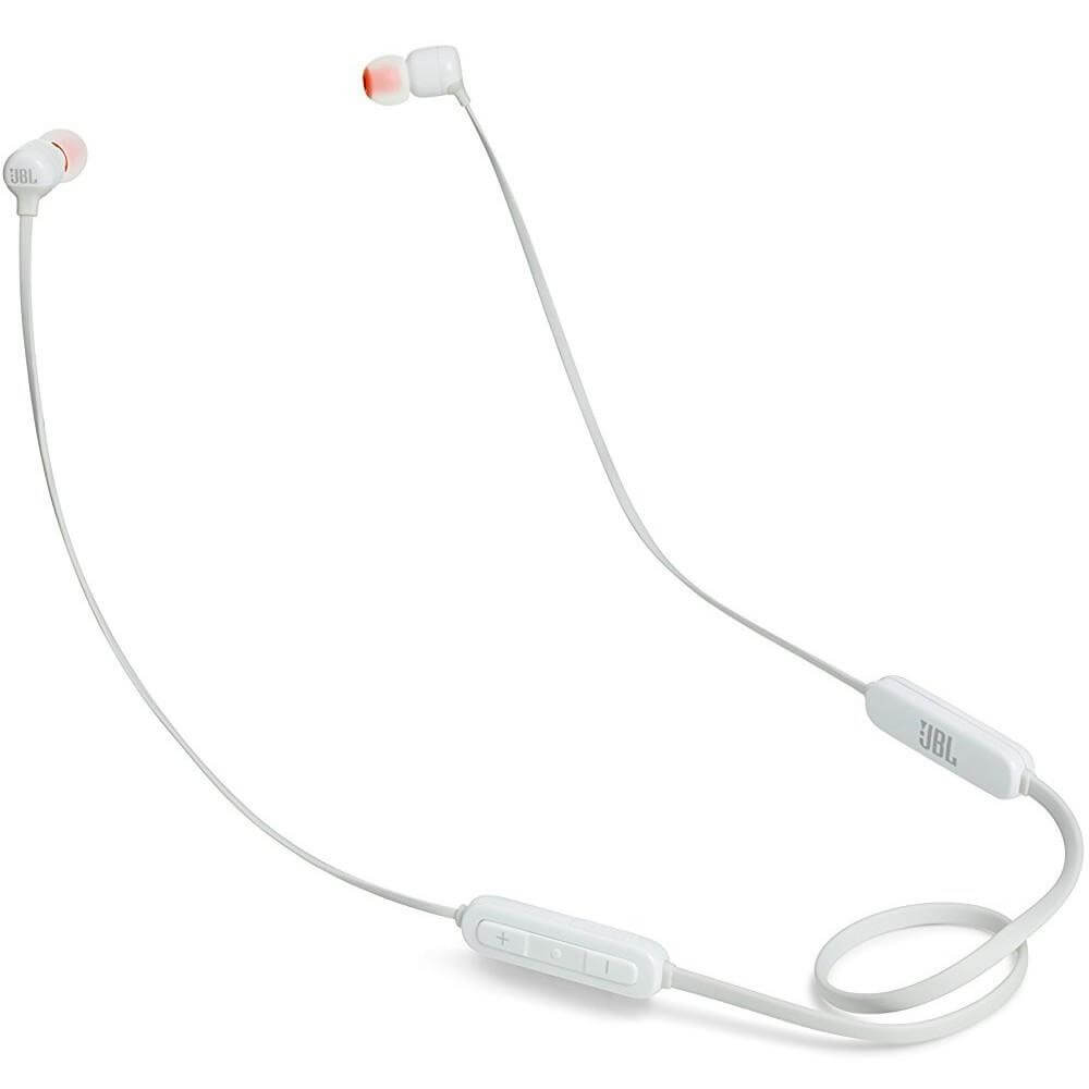 Fone De Ouvido JBL T110BT Bluetooth com Microfone - Branco