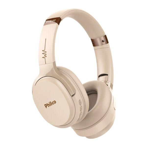 Fone de Ouvido Bluetooth Philco PFO01BTG - Bege