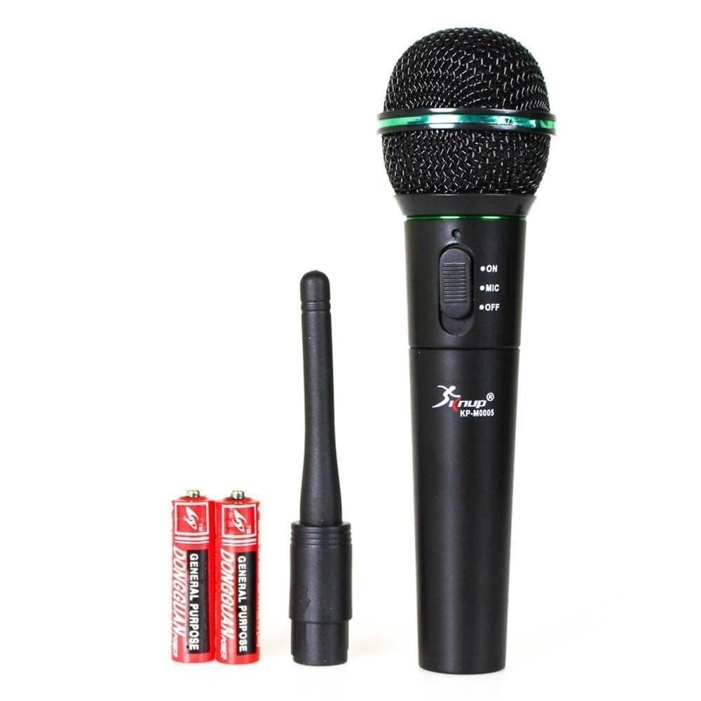 Microfone sem fio KP-M0005 Knup Festa Palestras