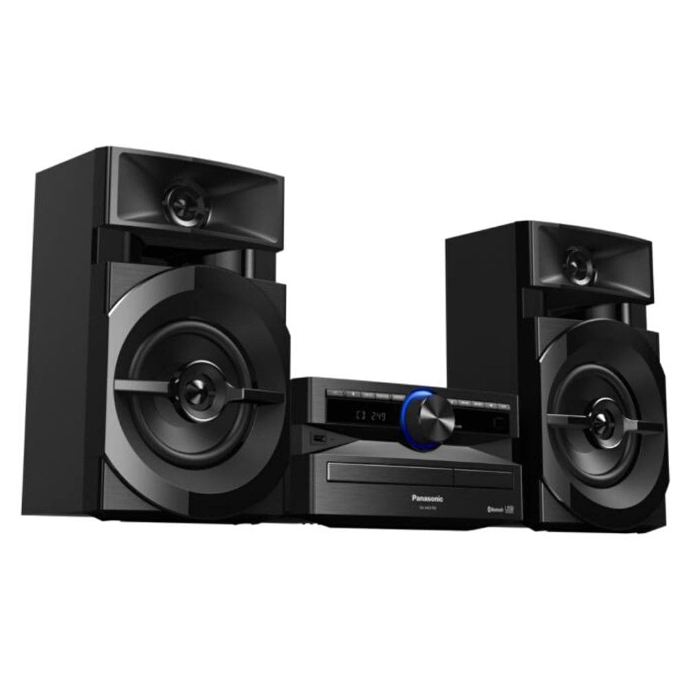 Mini System Panasonic SC-AKX100LBK - CD USB Bluetooth Max Jude 250W RMS