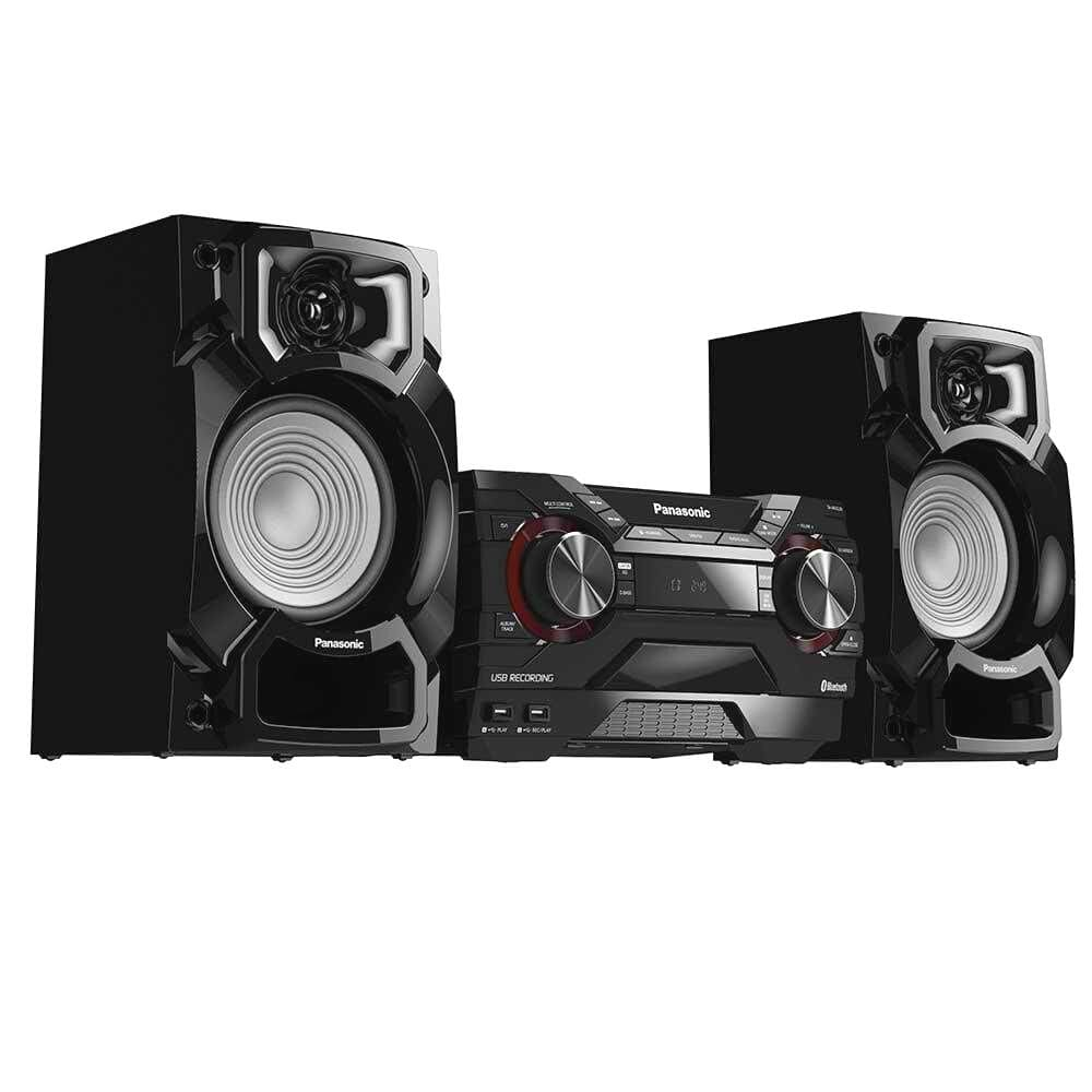 Mini System Panasonic SC-AKX220LBK - CD USB Bluetooth Max Jude 450W RMS