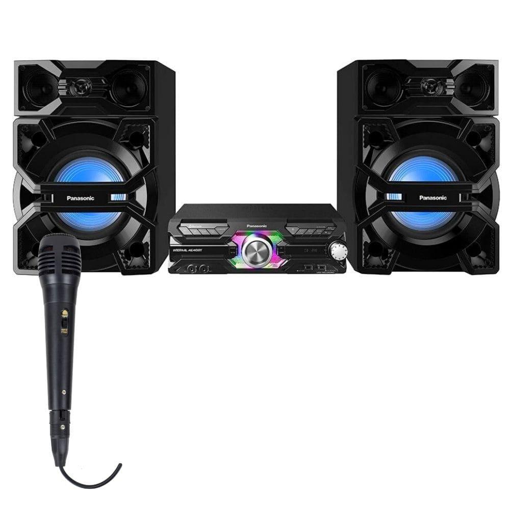 Mini System Panasonic SC-MAX3500LB - Max Juke 2000W 1 Microfone