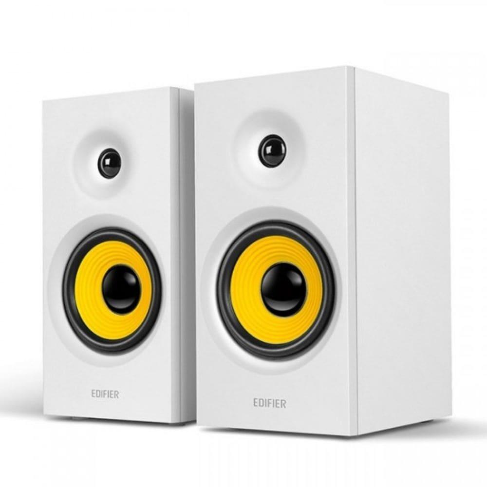 Monitor de Áudio Edifier R1080BT - Bluetooth 24w Rms Branco