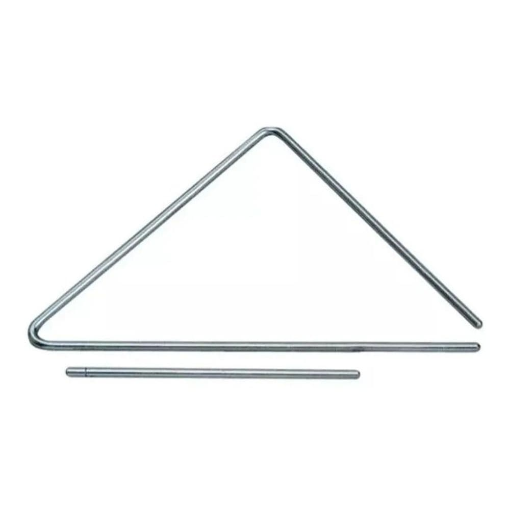 Torelli Triângulo 25cm Cromado Xote Forró Baião De Aço TL600