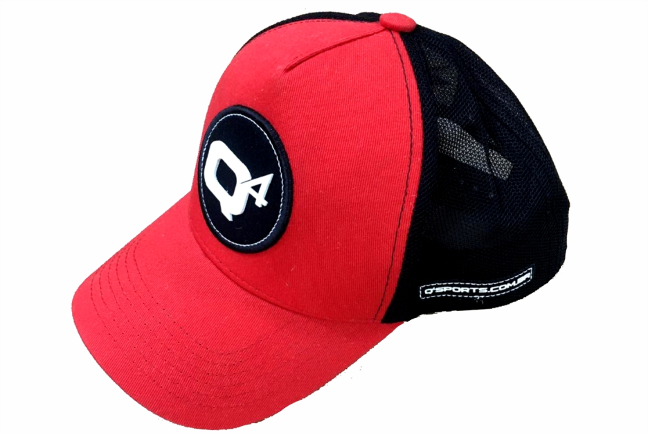 Boné Q4 Sports Aba Curva Trucker - Red