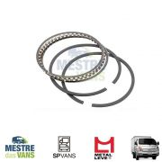 Jogo de Anéis de pistão 0.50 HR 2.5 / K2500 / L200 Metal Leve