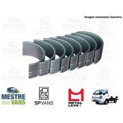 Jogo de Bronzina de biela 0.25 HR 2.5/ K2500 16V Metal Leve