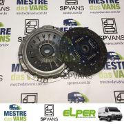Kit embreagem Ducato 2.3 / 2.8 01/05 (ré pra frente) Elper (SECO)