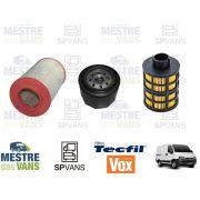 Kit filtros Ar + Óleo + Combustível Ducato 2.3 Multijet