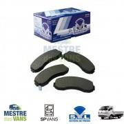 Pastilha de freio dianteira Topic .../98 / K2500 .../12 SYL