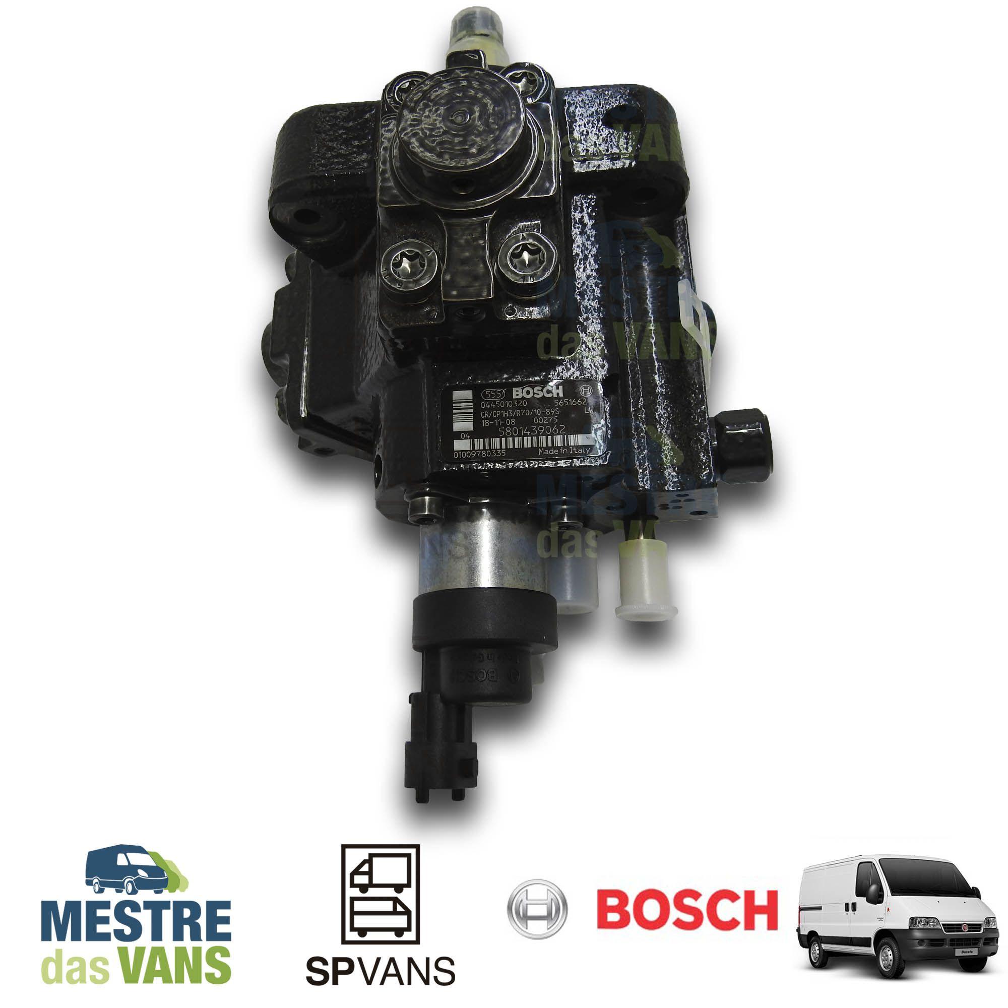 Bomba Injetora (alta) Ducato / Boxer / Jumper 2.3 Euro 5 Bosch