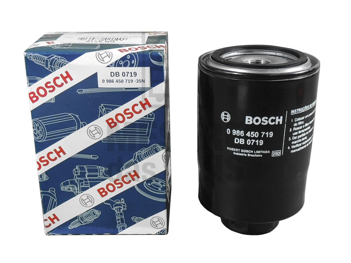 Filtro Combustível HR K2500 H100 L200 2.5 8v Bosch