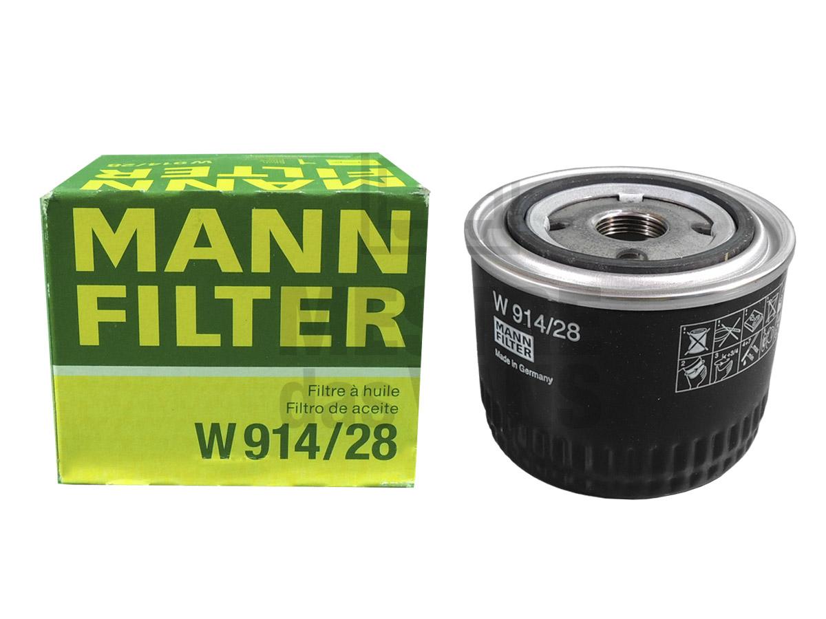 Filtro de Óleo Ducato Boxer Jumper 2.3 2010 até 2017 Mann