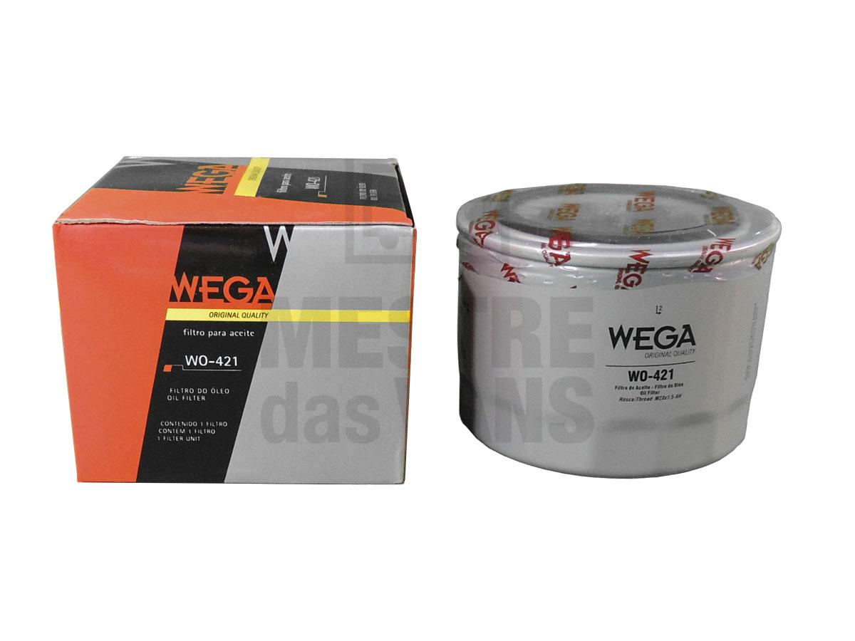 Filtro de óleo Ducato Boxer Jumper 2.3 2010 até 2017 Wega