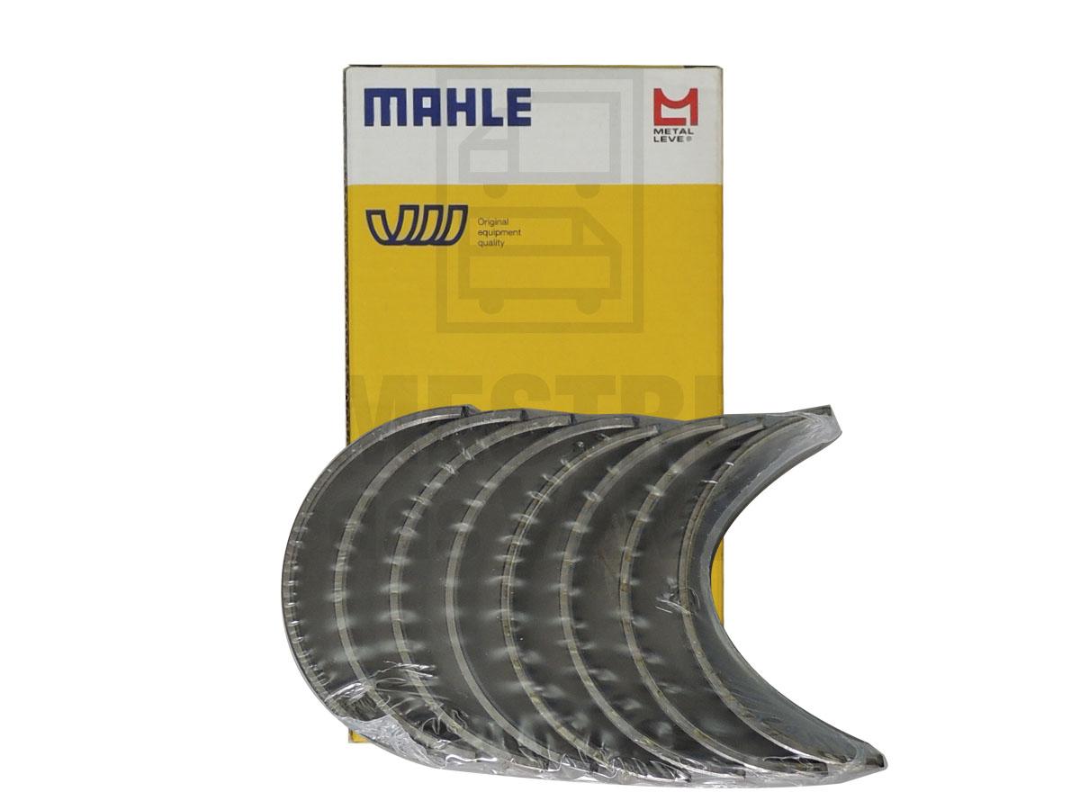 Jogo De Bronzina De Biela 0.50 Master 2.5 Metal Leve Mahle