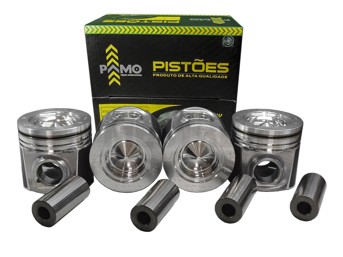 Jogo de Pistão com Pino STD Ducato 2.3 16v 2010 até 2017