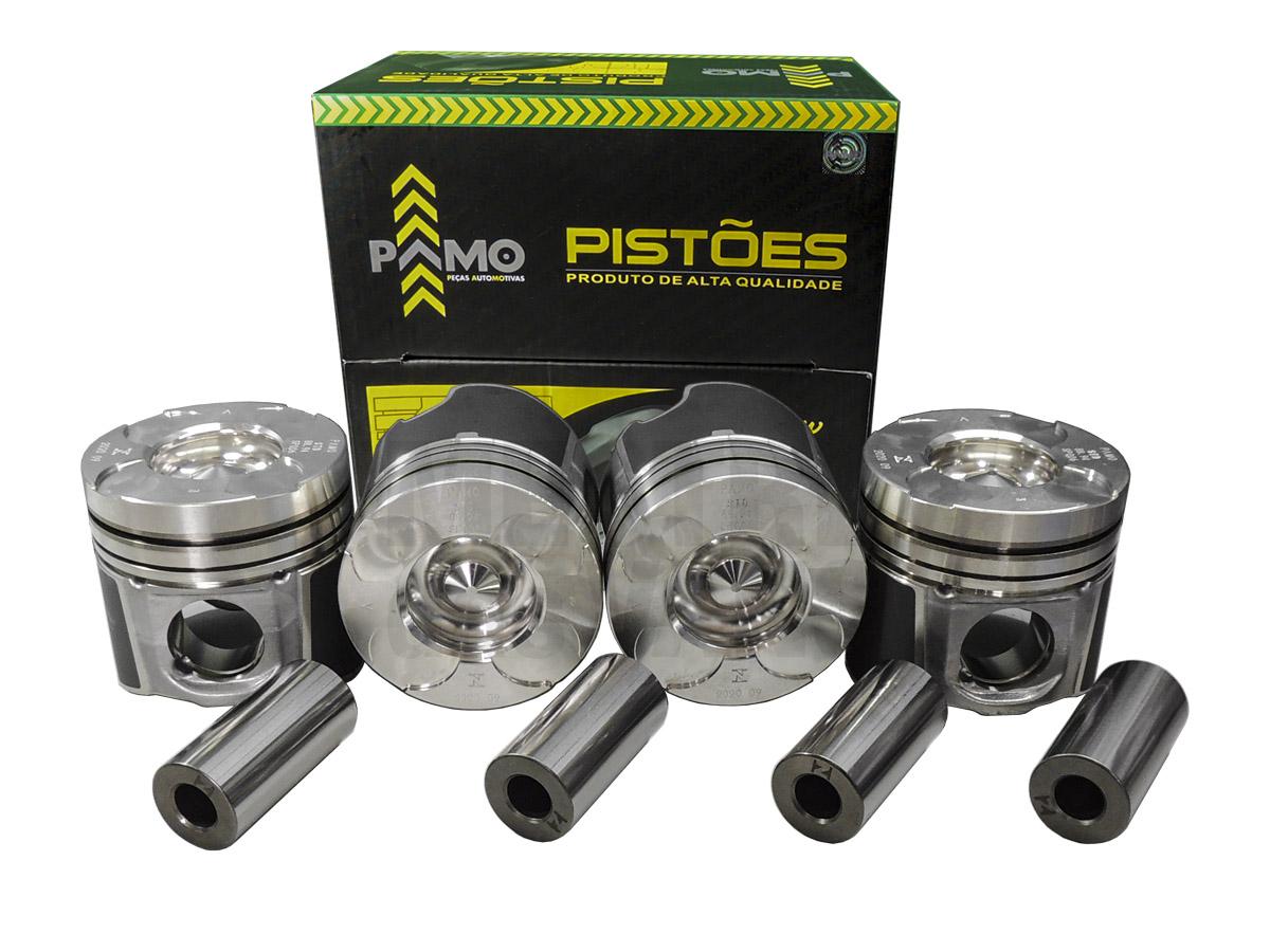 Jogo de Pistão STD com pino Renault Master 2.5 até 2013
