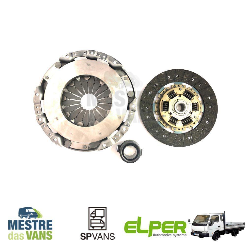 Kit embreagem Besta 2.7/ GS 2.7/ GS 3.0/ K2700 Elper (SECO)