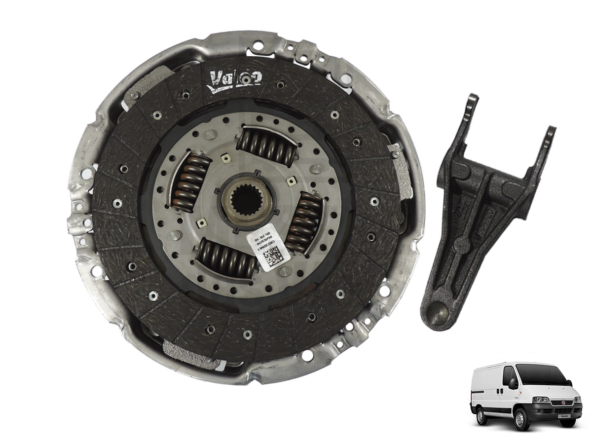 Kit Embreagem + Garfo Ducato / Boxer / Jumper 2.3 Valeo